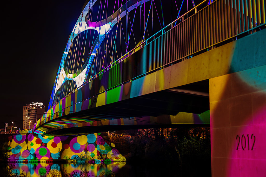 2014, Frankfurt, Luminale, Rainbow Bridge (Limited Edition)